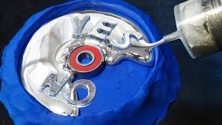 Make Your Mind Up Decision Making Fidget Spinner - Gallium Liquid Metal