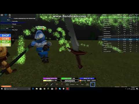 Roblox Field Of Battle: Using Demonite to Buy Dark Assassin Blade