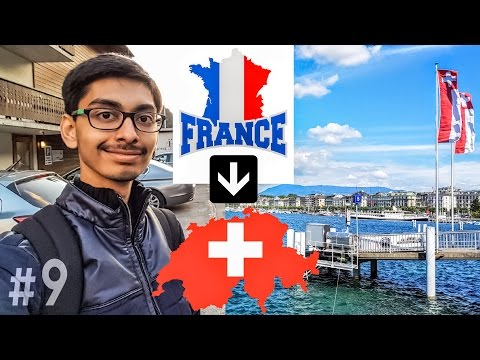 #9. India To Europe Trip - Day 4 | Paris To Geneva To Les Diablerets | France To Switzerland | GS7