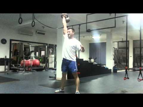 Personal Training Session: My Client Doing a Finisher
