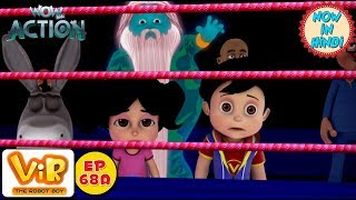 Vir: The Robot Boy | Gintu Ki Boxing | As Seen On HungamaTV | WowKidz Action