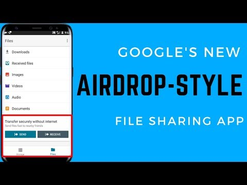 How to Use Google Files Go -  New File Sharing App By Google