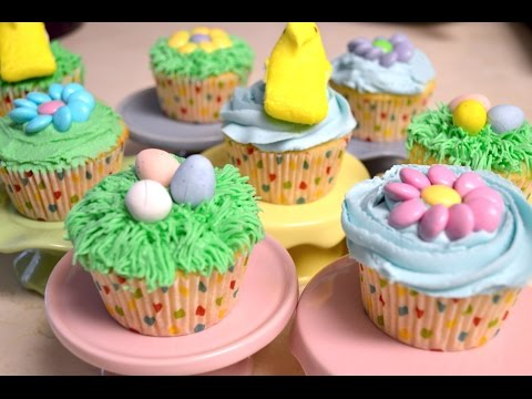 LIVE STREAM - How to Make and Decorate Easter Cupcakes