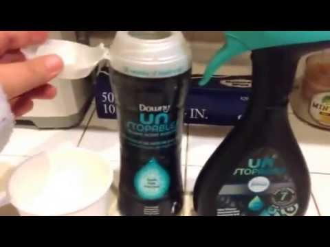 Make your own downy unstoppables fabreeze aka room/ linen freshener