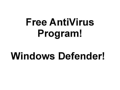 Step 6 - Free AntiVirus program