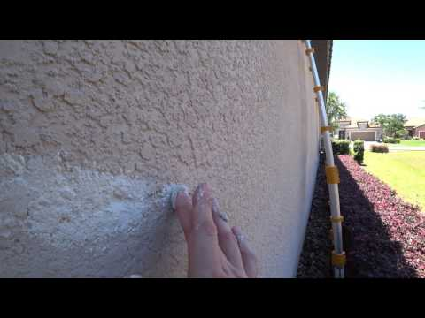 HOWTO Patch Stucco Exterior Wall Cracks (Invisible)