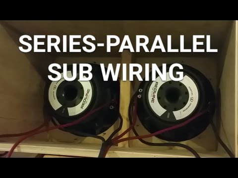 Understanding Subwoofer Wiring both series and paralell circuits ...