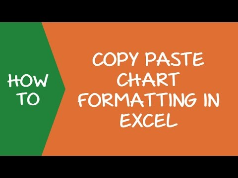 How to Copy Chart/Graph Format in Excel