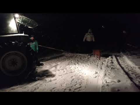Tractor sledding in West Georgia part 2