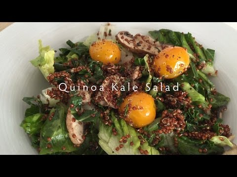 Quinoa Kale Salad (Vegan) #01