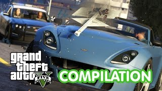 GTA V: Best Car Crash Compilation Grand Theft Auto 5