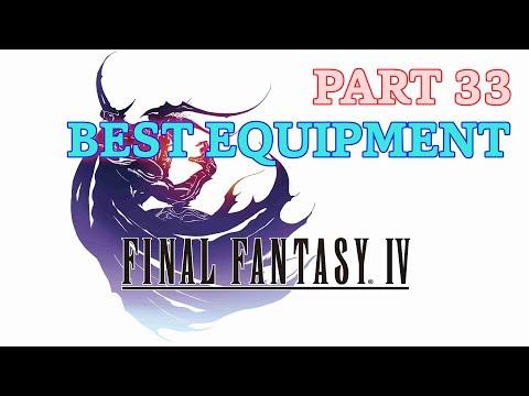 [PSP] Final Fantasy IV Perfect 100% - Part 33: Best Equipment Showcase