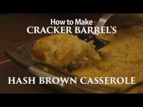 How to Make Cracker Barrel's Hash Brown Casserole