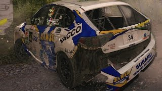 Dirt Rally crashes (Realistic damage mod) #13