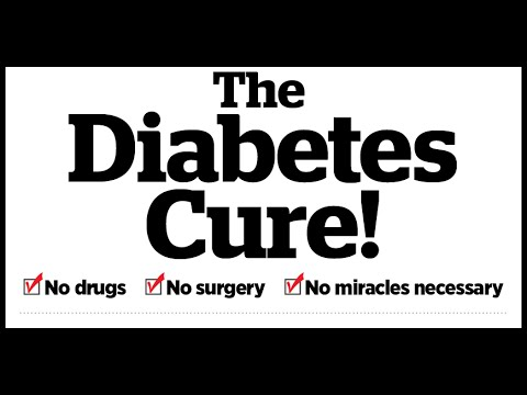 Cure for diabetes--14 days challenge
