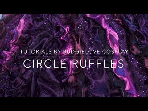 Circle Ruffles Tutorial