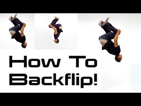 HOW TO DO A BACKFLIP   Parkour & Tricking Tutorials w/ Vinny Grosso