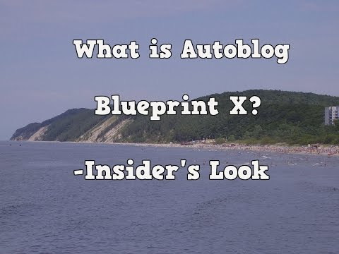 What is Autoblog Blueprint X? -a Look Inside the Member's Area