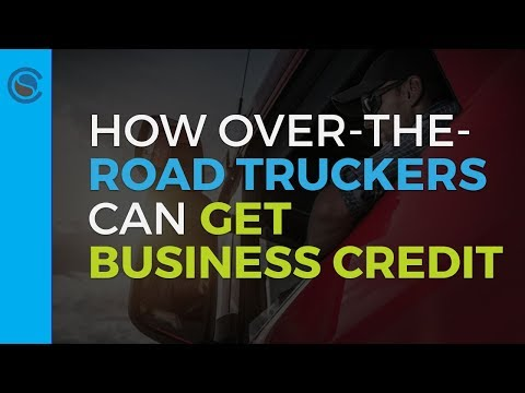How to Get Business Credit for Trucking