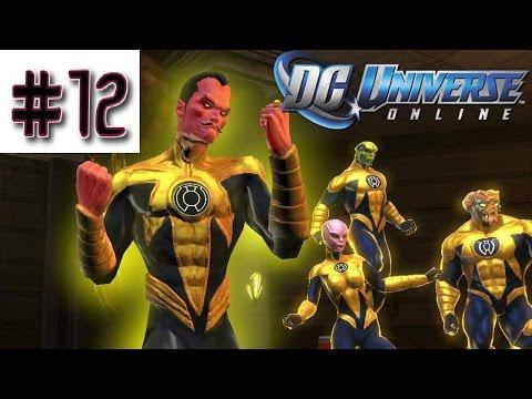 DC Universe Online - Blind Playthrough Part 12 - Alpha Lantern/John Stewart