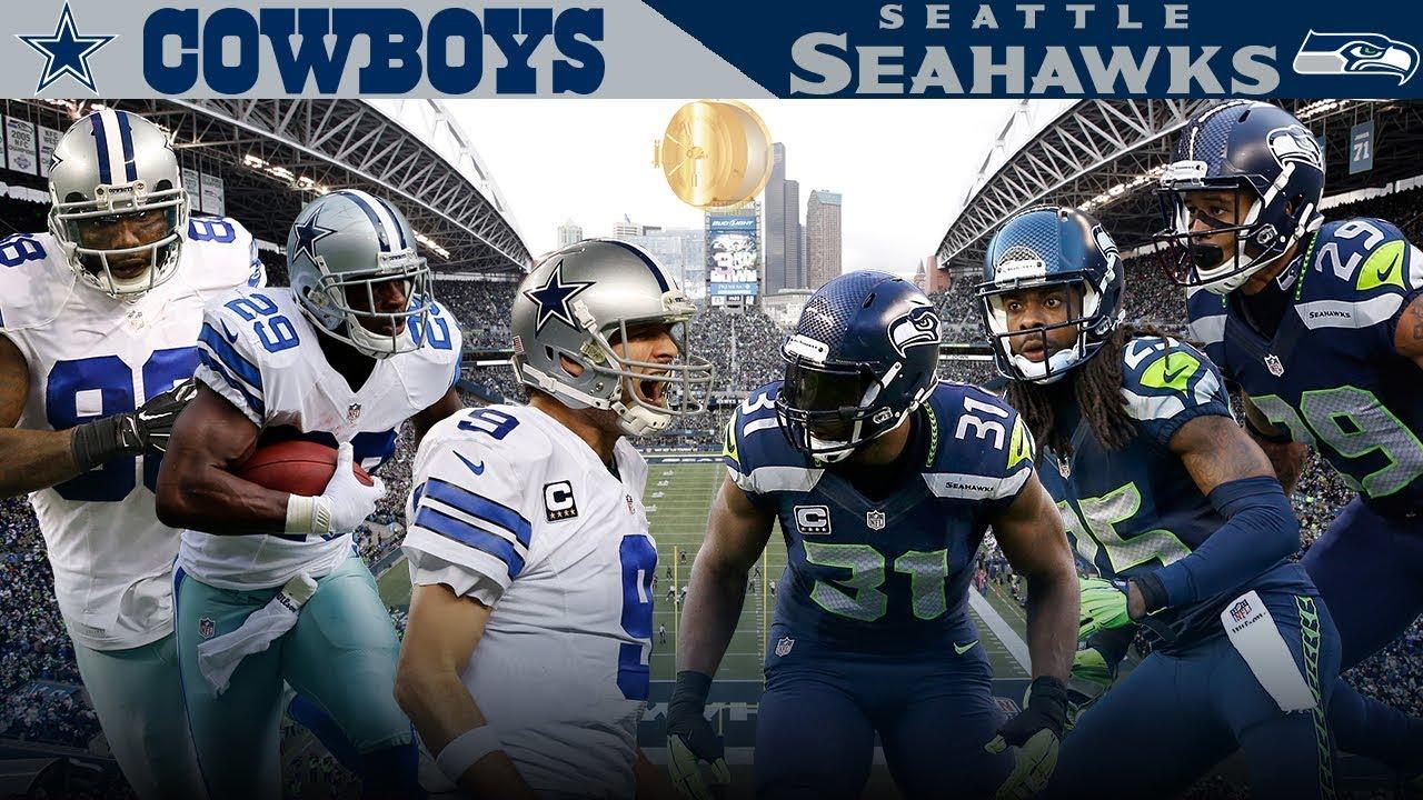 Dallas' Big 3 Takes on the Legion of Boom! (Cowboys vs. Seahawks, 2014) | NFL Vault Highlights