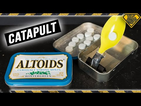 Secret Altoids Catapult
