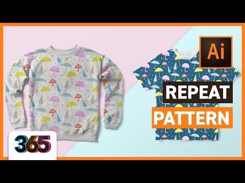 Repeat Pattern | Illustrator CC Tutorial #41/365 Days of Creativity