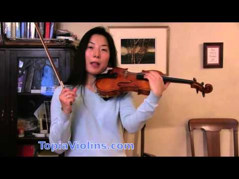 High Notes with a Good Sound on the Violin