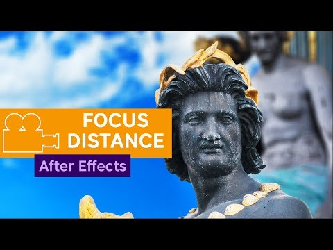 After Effects - Camera Focus Distance