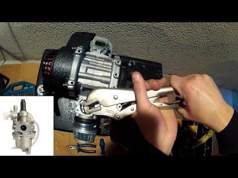 How to Clean Pocket Bike Carburetor Instructions - 49cc Engine