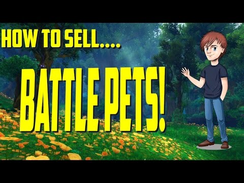 How To Sell Battle Pets | Beginners Guide