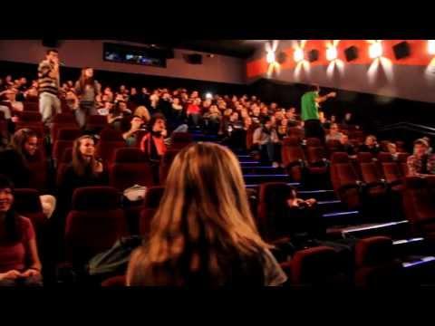 CHRISTMAS FLASHMOB, Singing in Cinema City Sofia / SGE