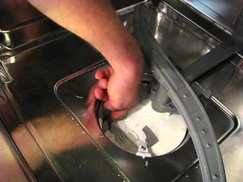 Bosch Dishwasher not draining properly