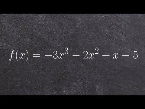 Pre-Calculus - Determine if you have a factor of a polynomial using the factor theorem