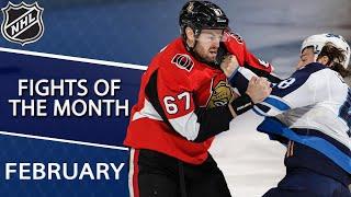 Best NHL fights of February 2019 | NHL | NBC Sports