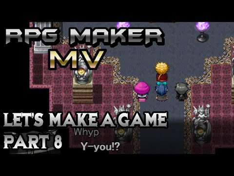 RPG Maker MV: Guardian Minotaur and Final Boss Lair! (Let's Make a Game! Pt-8)