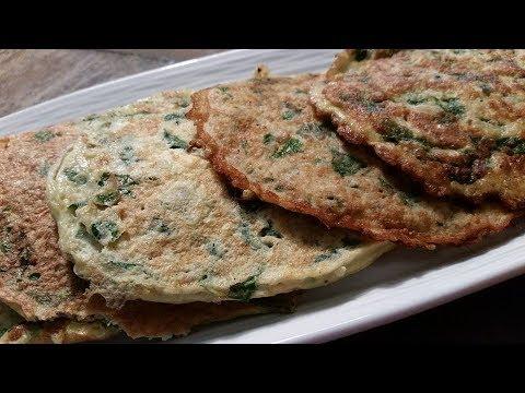 No Cheese/Flour Tortillas - KETO Cauliflower and Spinach Tortillas - Low Carb Keto Recipe