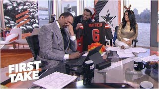 Will Cain trolls Stephen A. about Cowboys' NFC East title, Steelers | First Take