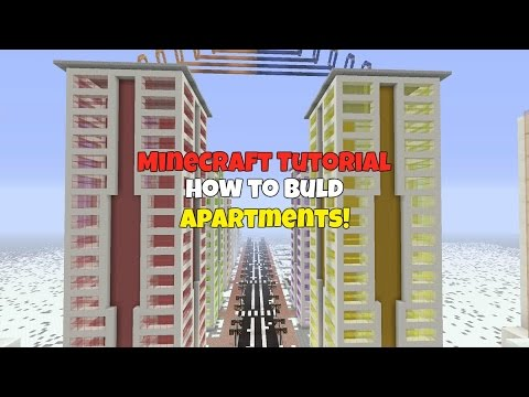 Minecraft Tutorial: How to Build Apartments!