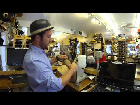 How To Steam and Reshape A Hat - Hats Unlimited