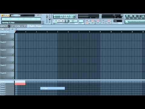 FL Studio 10 Tutorial: [Beginner] FL Studio Walkthrough PART 1