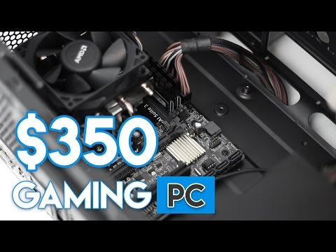 HOW TO BUILD A $350 CONSOLE KILLER GAMING PC 2017! [1080P - ULTRA!]