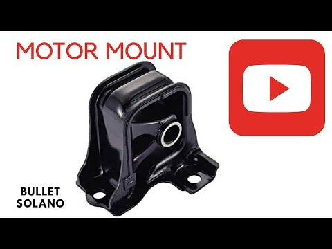 How To Replace front Motor Mount on a 1998 to 2002 Honda Accord