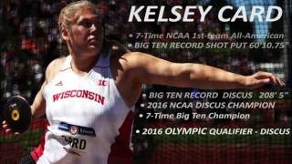 Kelsey Card 2016 Rio Olympics Discus Practice