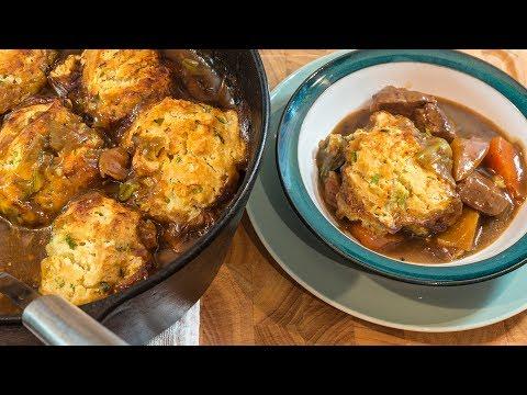 Beef stew & Crispy Dumplings