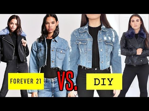DIY FOREVER21 CLOTHING HACKS! Turning old clothes into new!