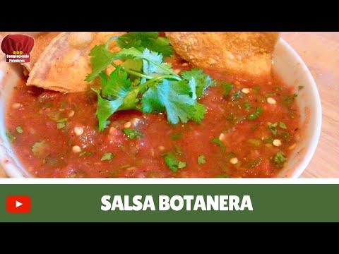 SALSA BOTANERA  receta mexicana (Complaciendo Paladares)