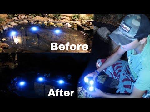 UNDERWATER LED LIGHTING!