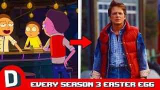 Every Easter Egg in Rick and Morty Season 3