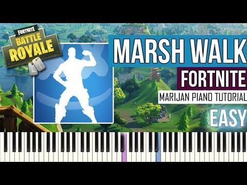 How To Play: Fortnite - Marsh Walk | Piano Tutorial EASY